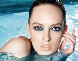 maquillage aquatique